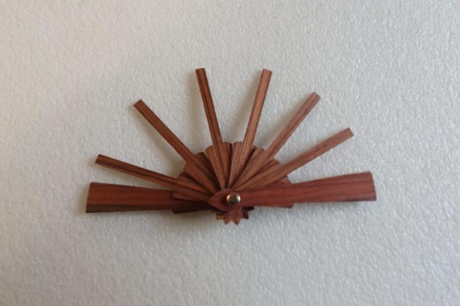 Fusta palo santo mini - Varilla 2 cm + 3cm pais total 5 cm